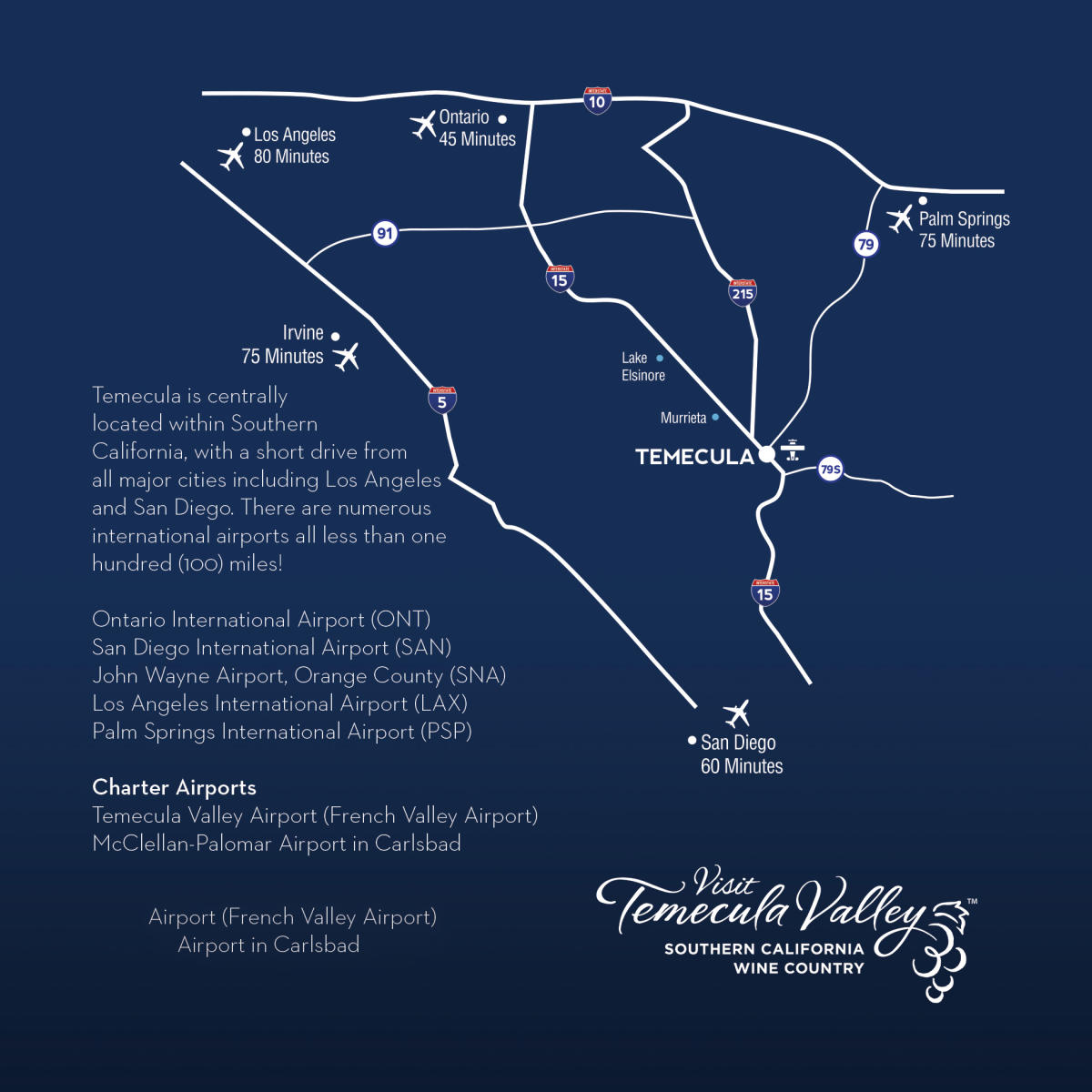 Temecula Valley Map