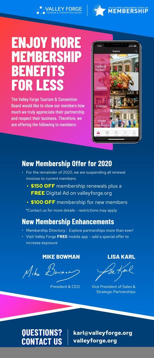 membership offer 2020