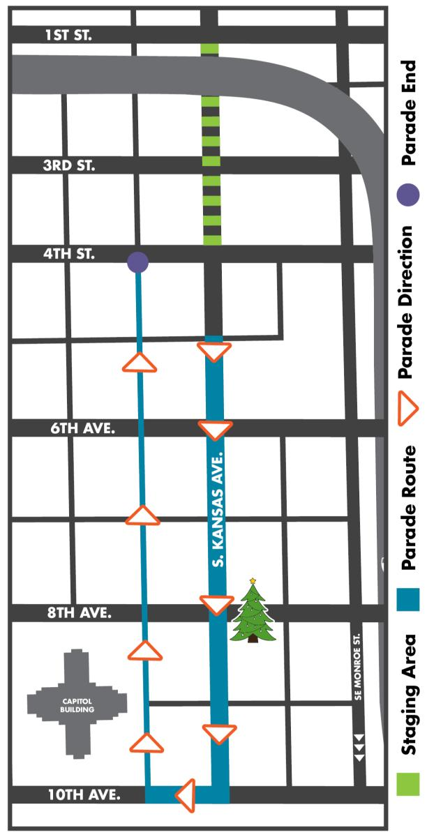 Miracle on Kansas Avenue map