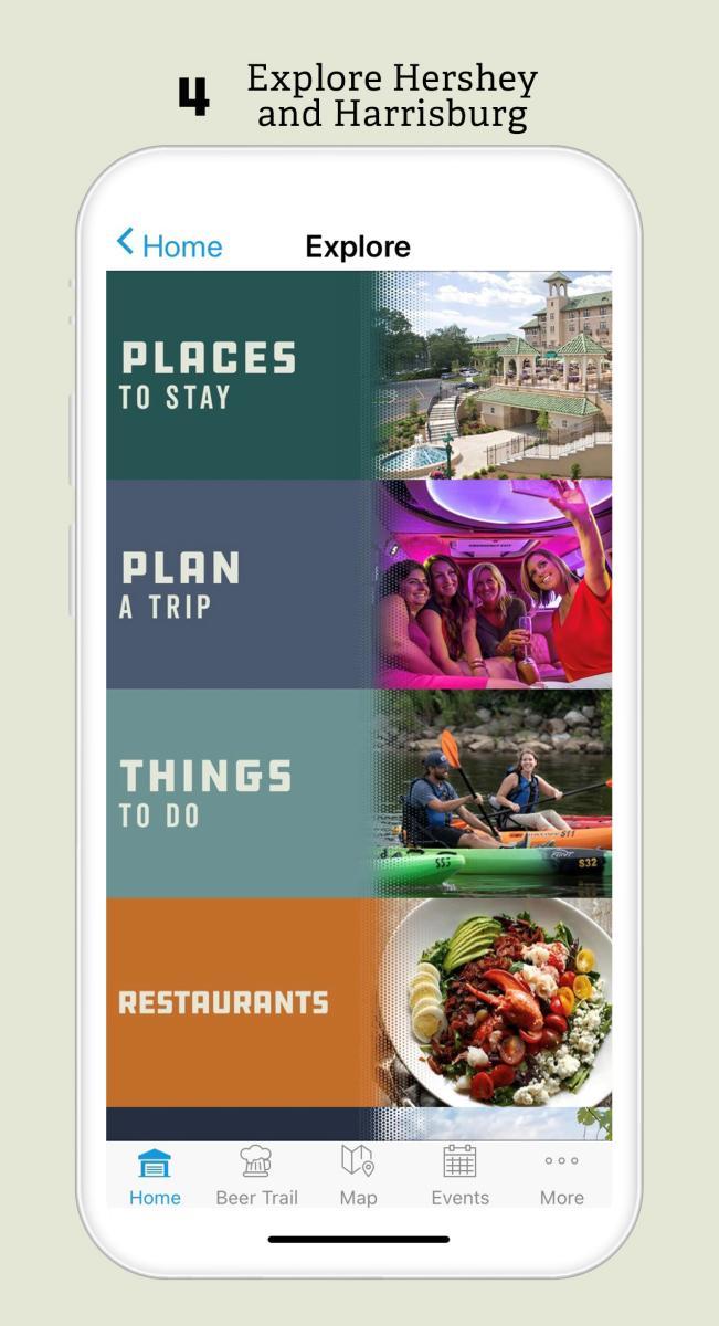 Explore Hershey and Harrisburg
