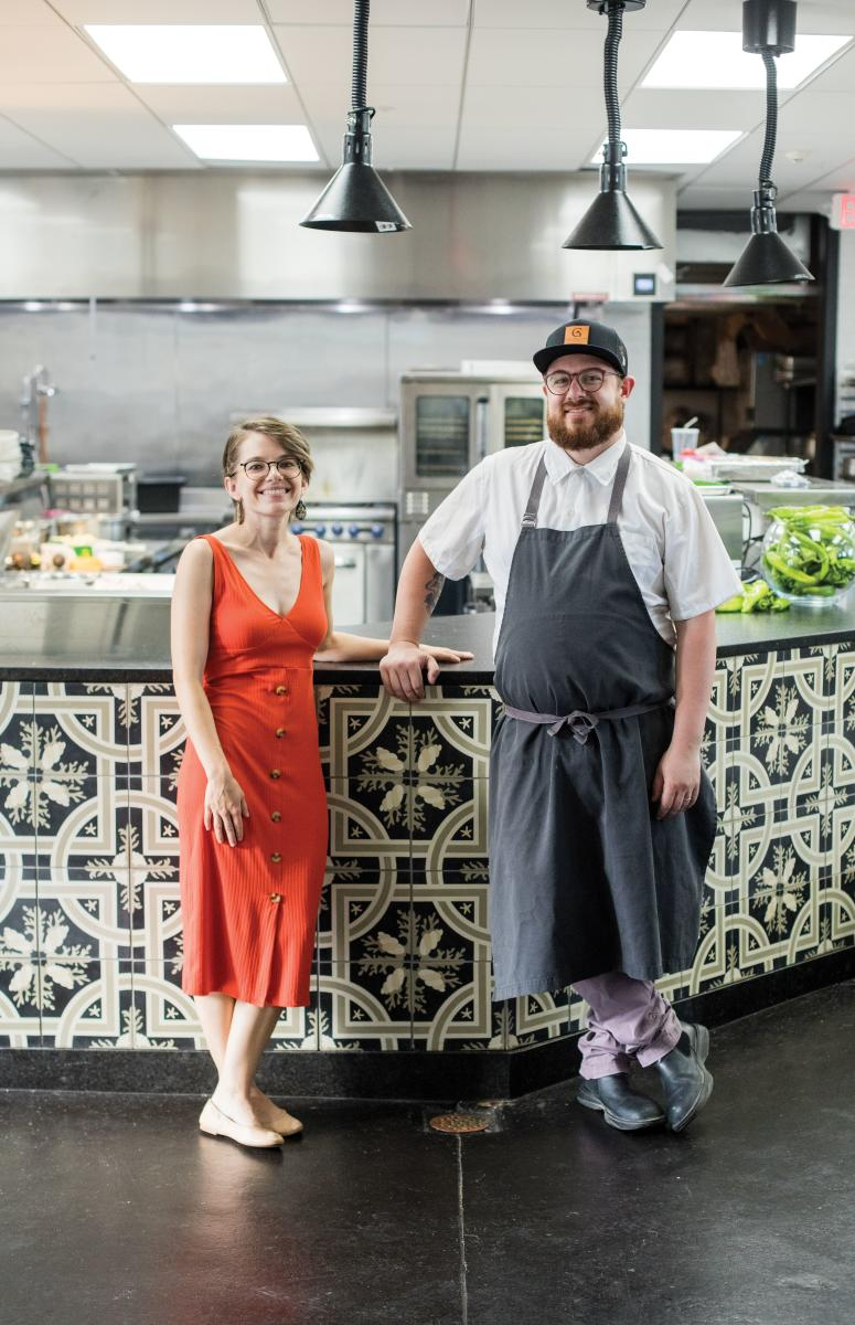 Chef Sean Sinclair and his wife, Katey, aim to bring destination dining to Kin, a restaurant where everyone is family.