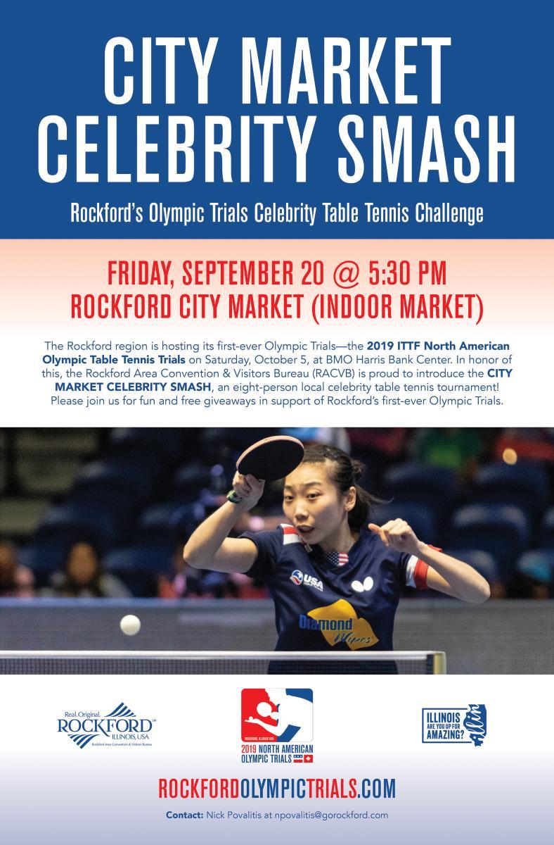 City Market Celebrity Smash poster