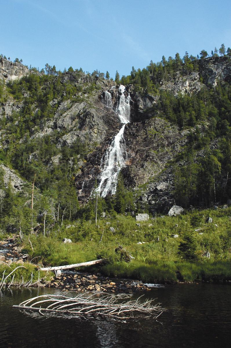 Gloppefoss waterfall