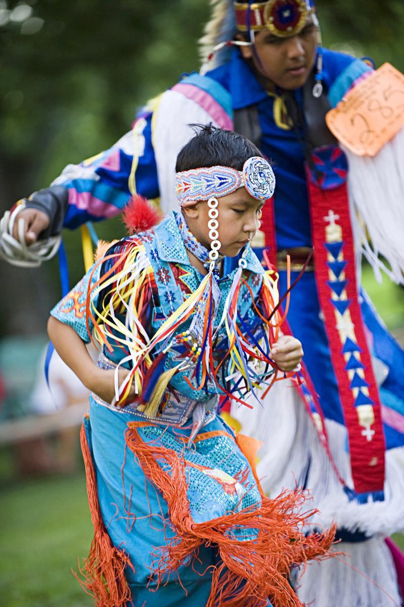 Kaw Nation Dancer