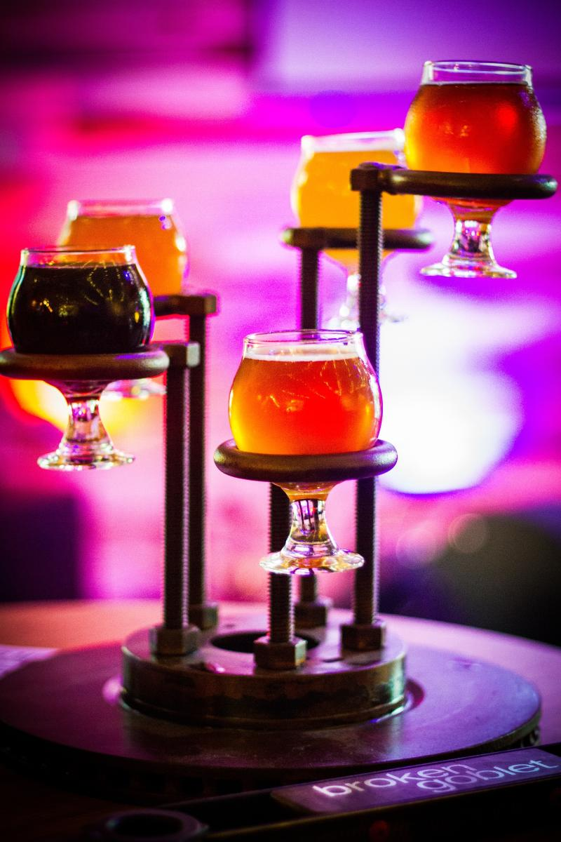 If you're ready for a twist on traditional tasting, let the Broken Goblet break your perspective on how you experience craft beer.