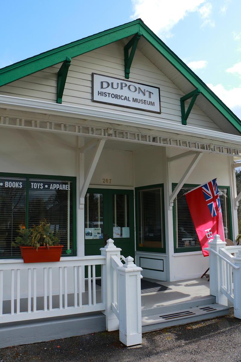 DuPont Historical Society Exterior