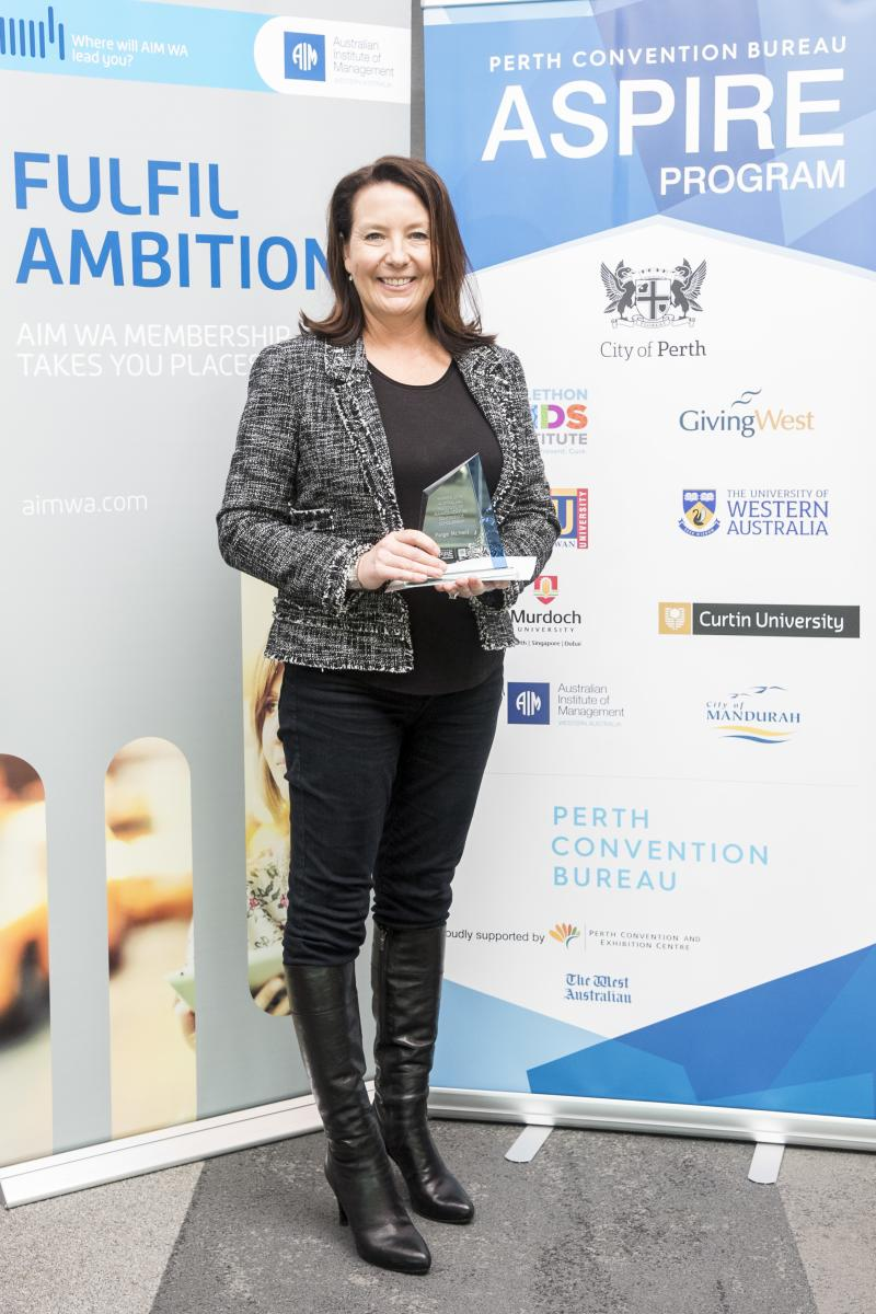 2018 AIMWA Aspire Winner