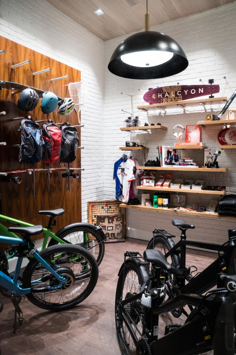 Halcyon Hotel's Gear Garage in Denver