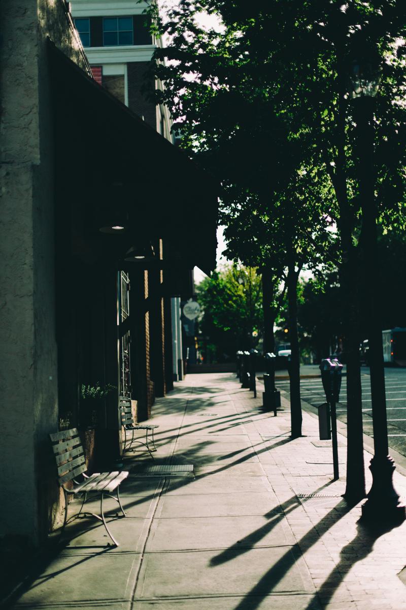 Clayton Street Sidewalk