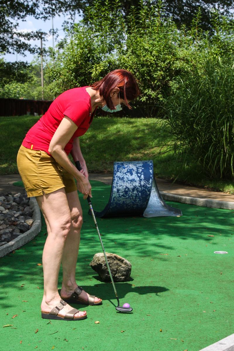 Mini Golf at Oak Marr