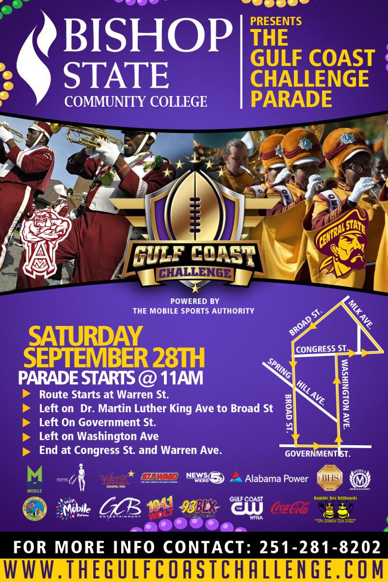 Gulf Coast Challenge Parade Poster