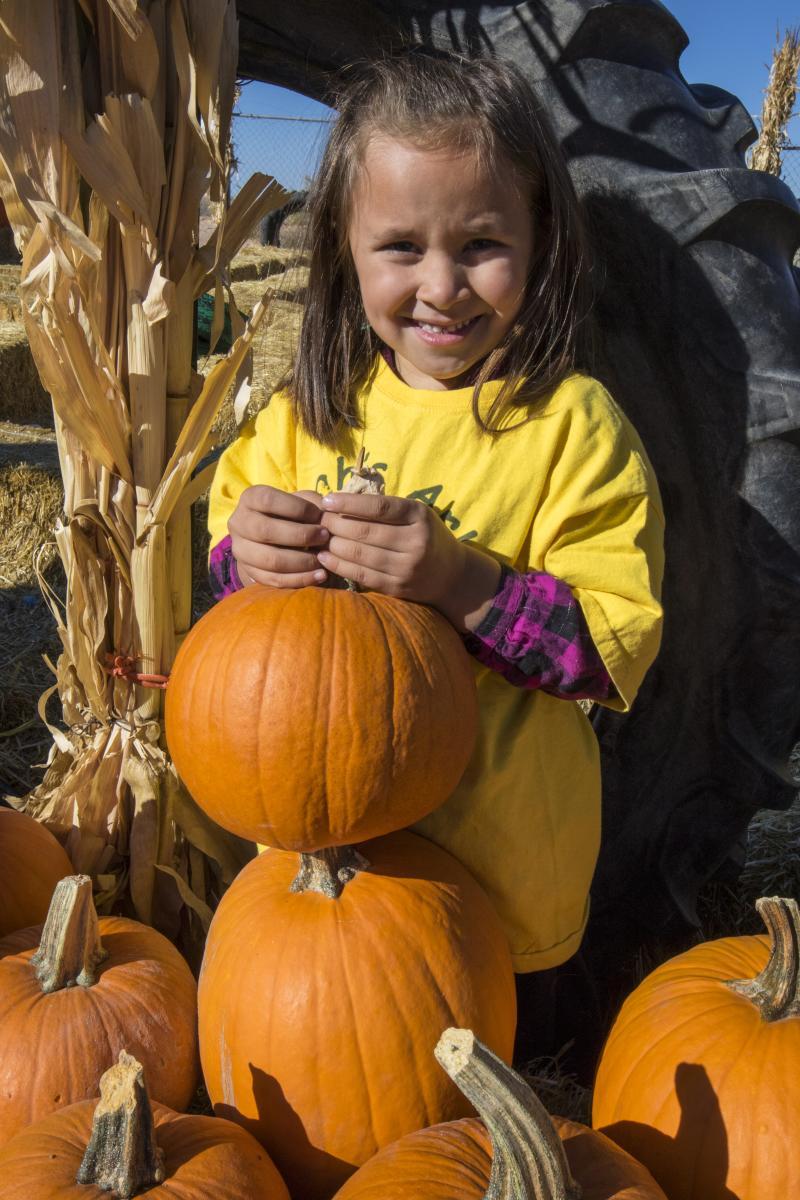Pumpkin Patch Kid (girl)