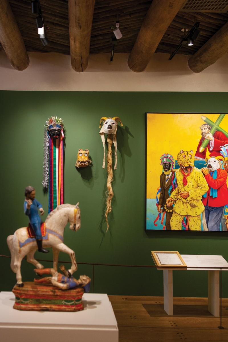 An exhibition of Paul Pietka's work at Museum of Spanish Colonial Art