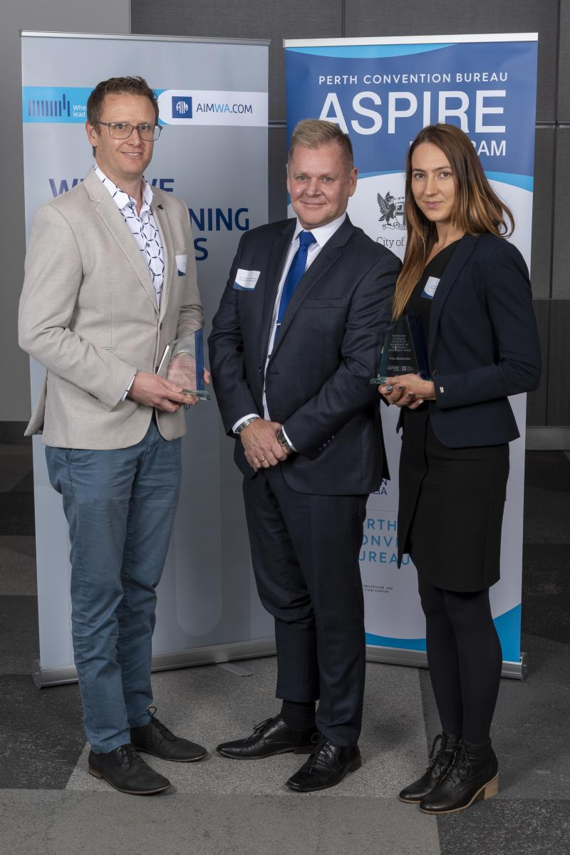 Australian Institute of Management WA ASPIRE Award 2019