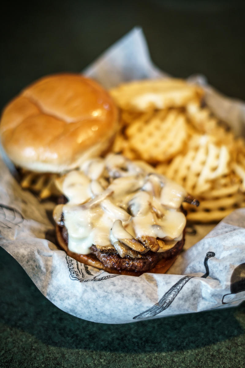 Brother's Bar & Grill's Mushroom Burger in Rochester, MN