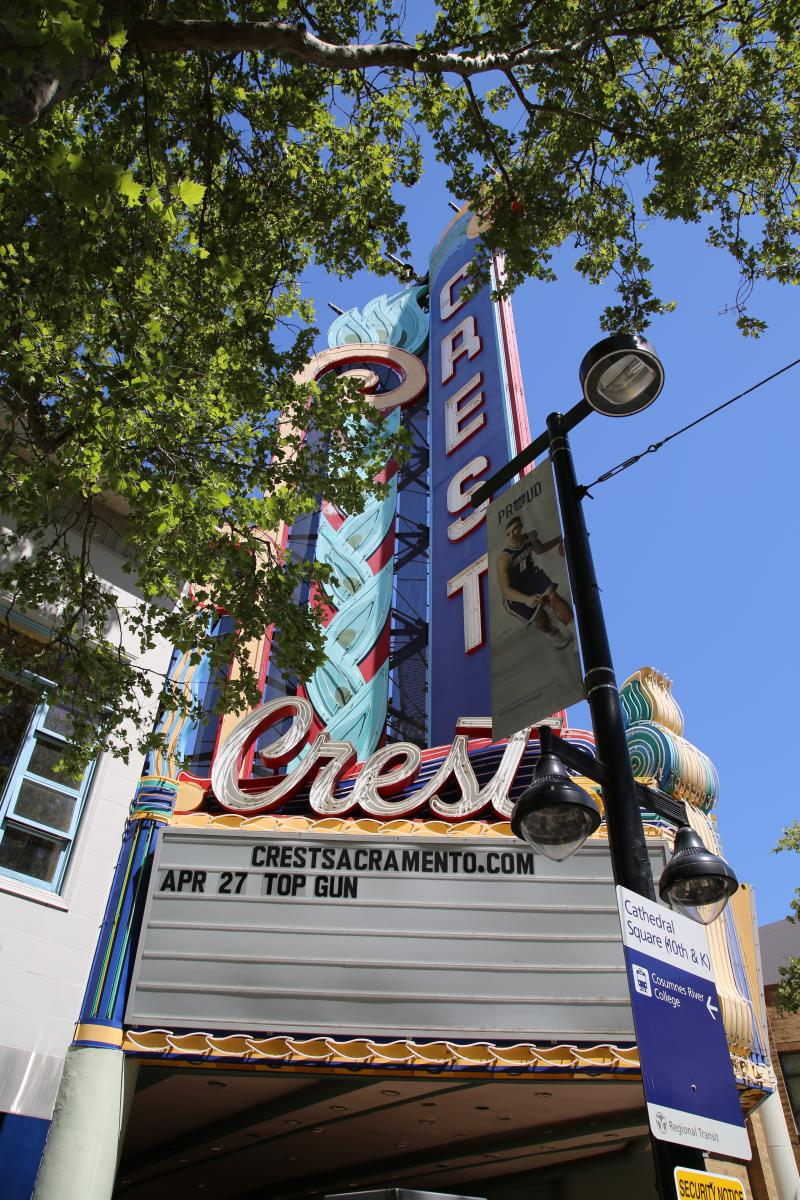 Crest Theater Marquee