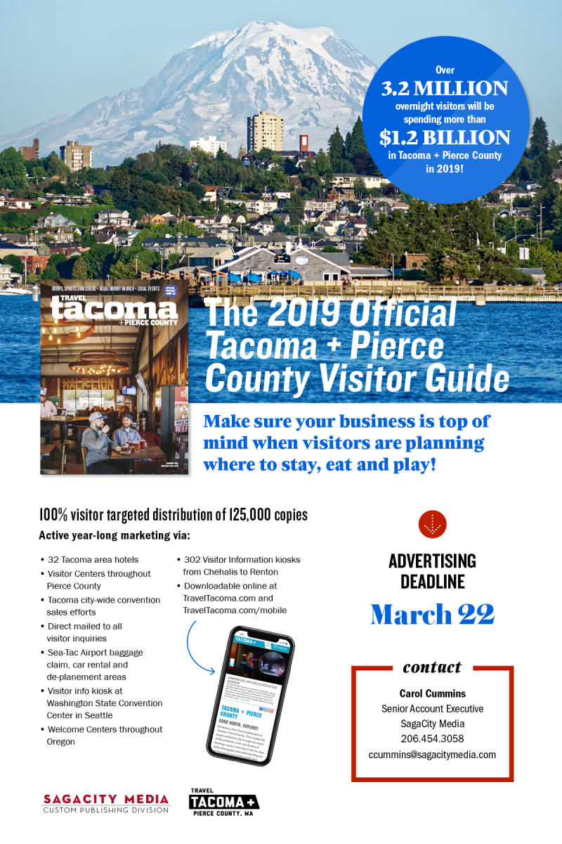 Visitor Guide sales 2019