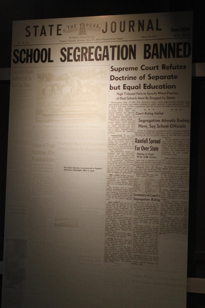 Brown v Board Newspaper