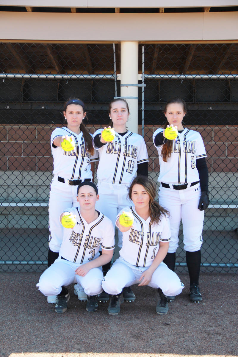 Holt Rams Softball  Seniors 2018