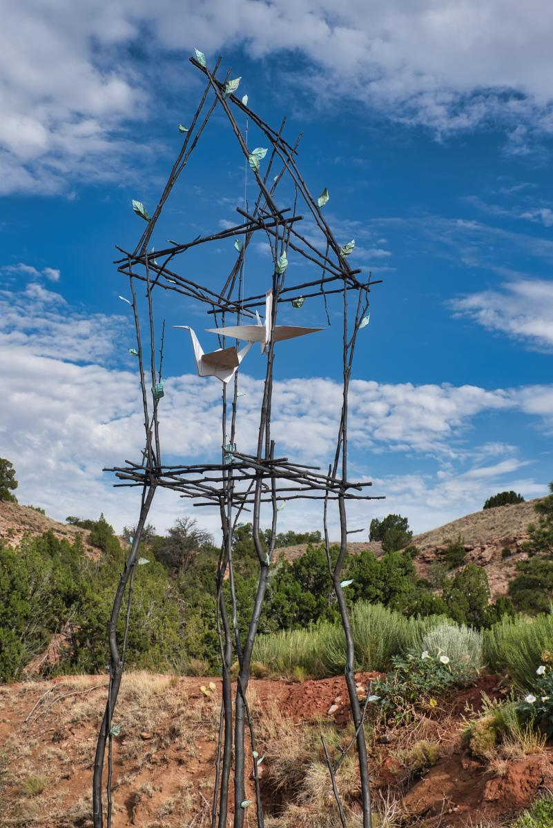 Spirit House, a collaboration with Jennifer Box, New Mexico Magazine