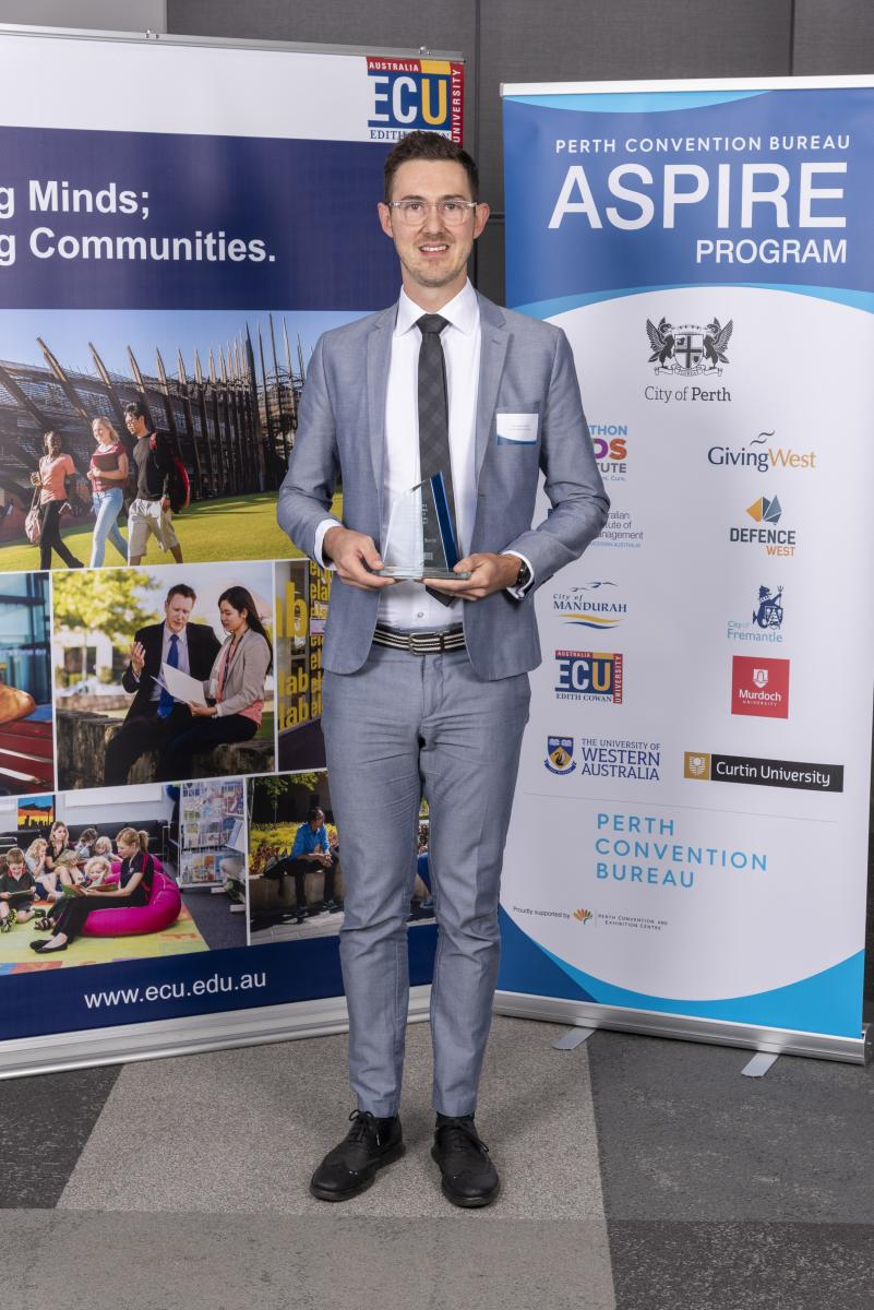 Edith Cowan University ASPIRE Award 2019 - Mr Francesco Lo Surdo