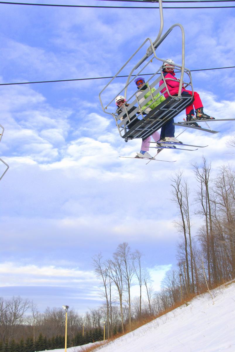 Ski Lift at Nemacolin Woodlands Resort