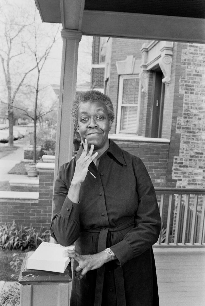 Portrait of Gwendolyn Brooks by Art Shay