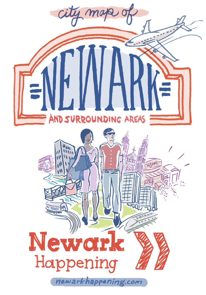 City Map of Newark – Cover