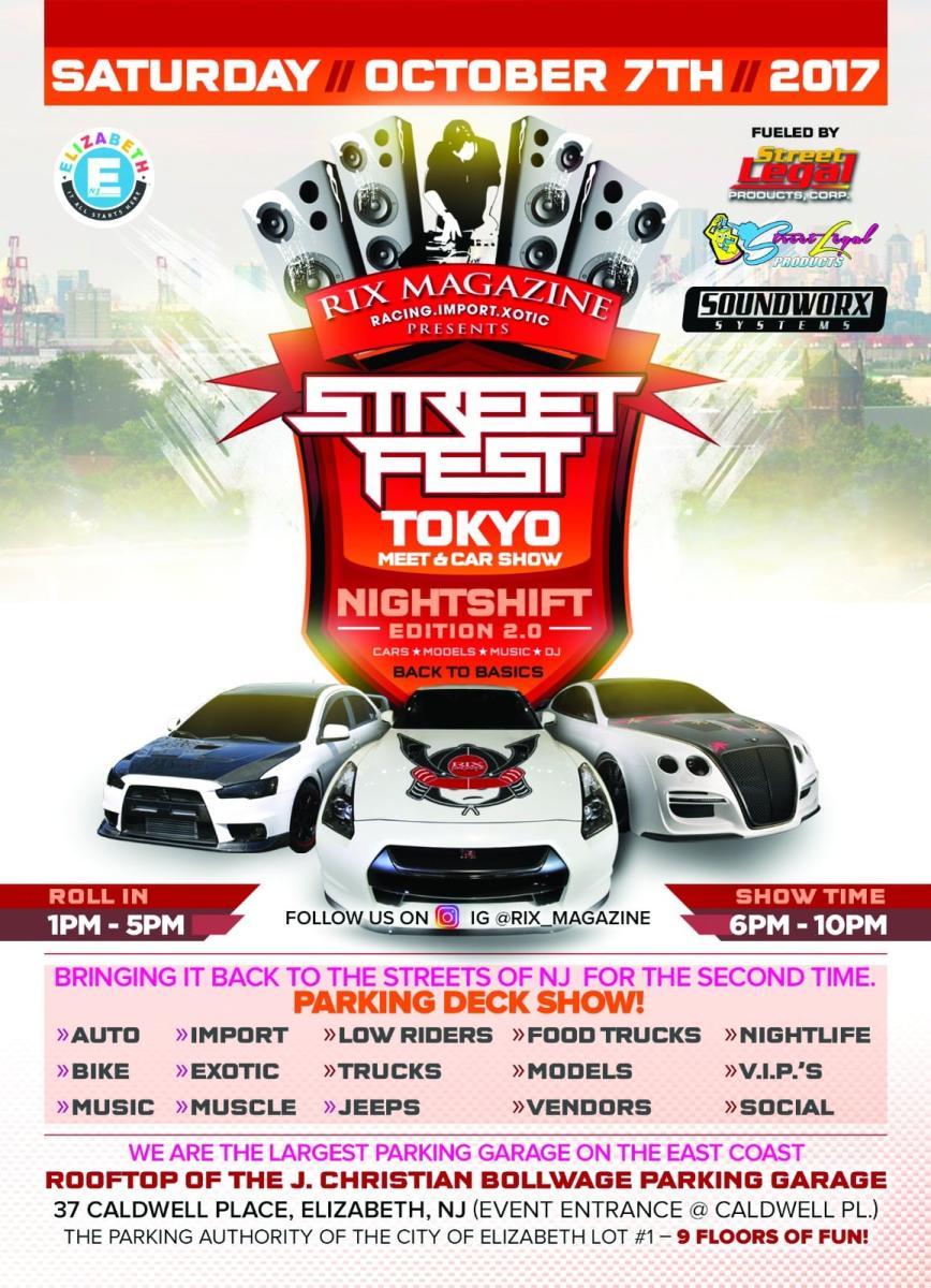 Street Fest 2017 flyer