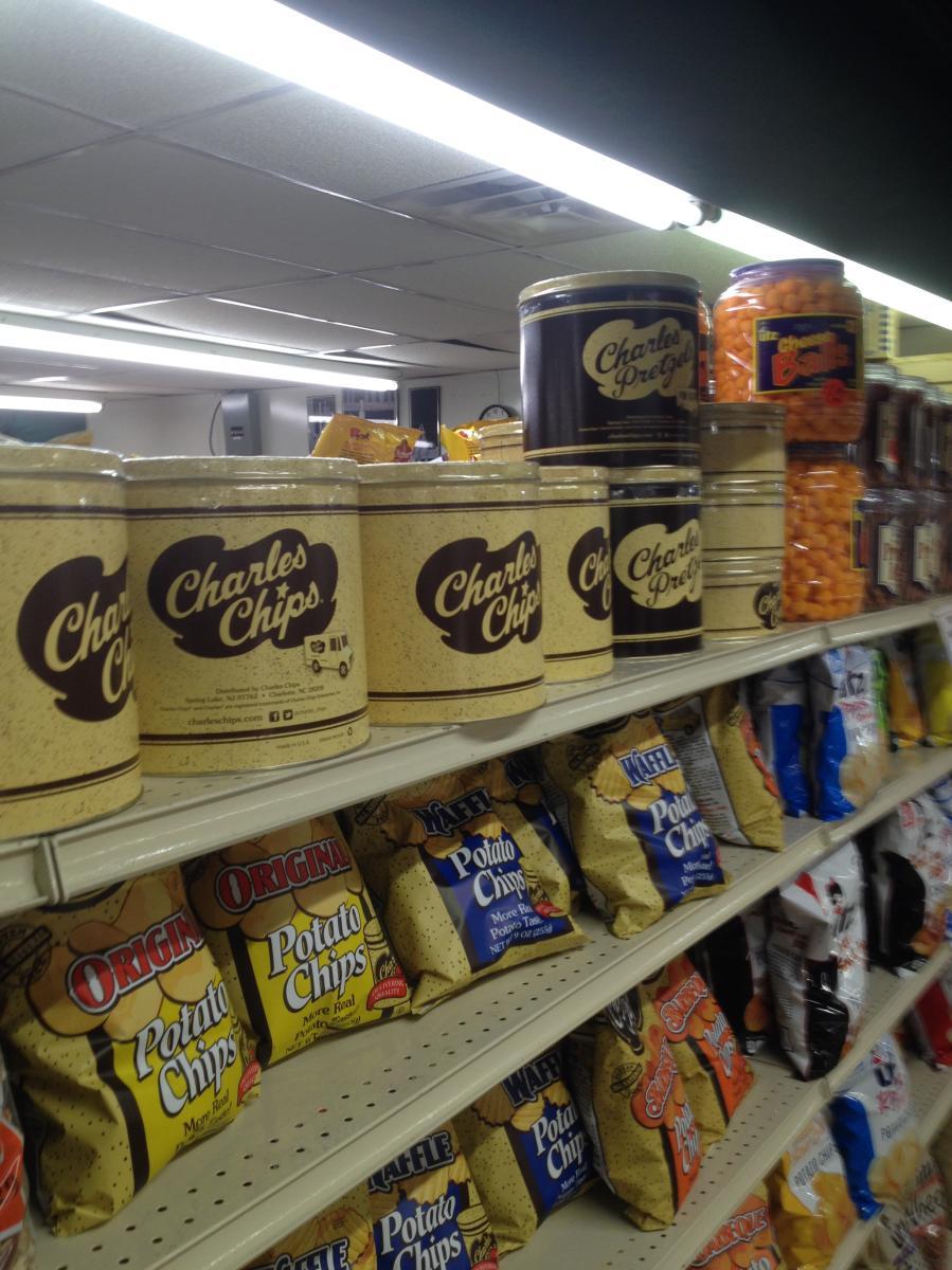 Quakertown Farmers Market shelves