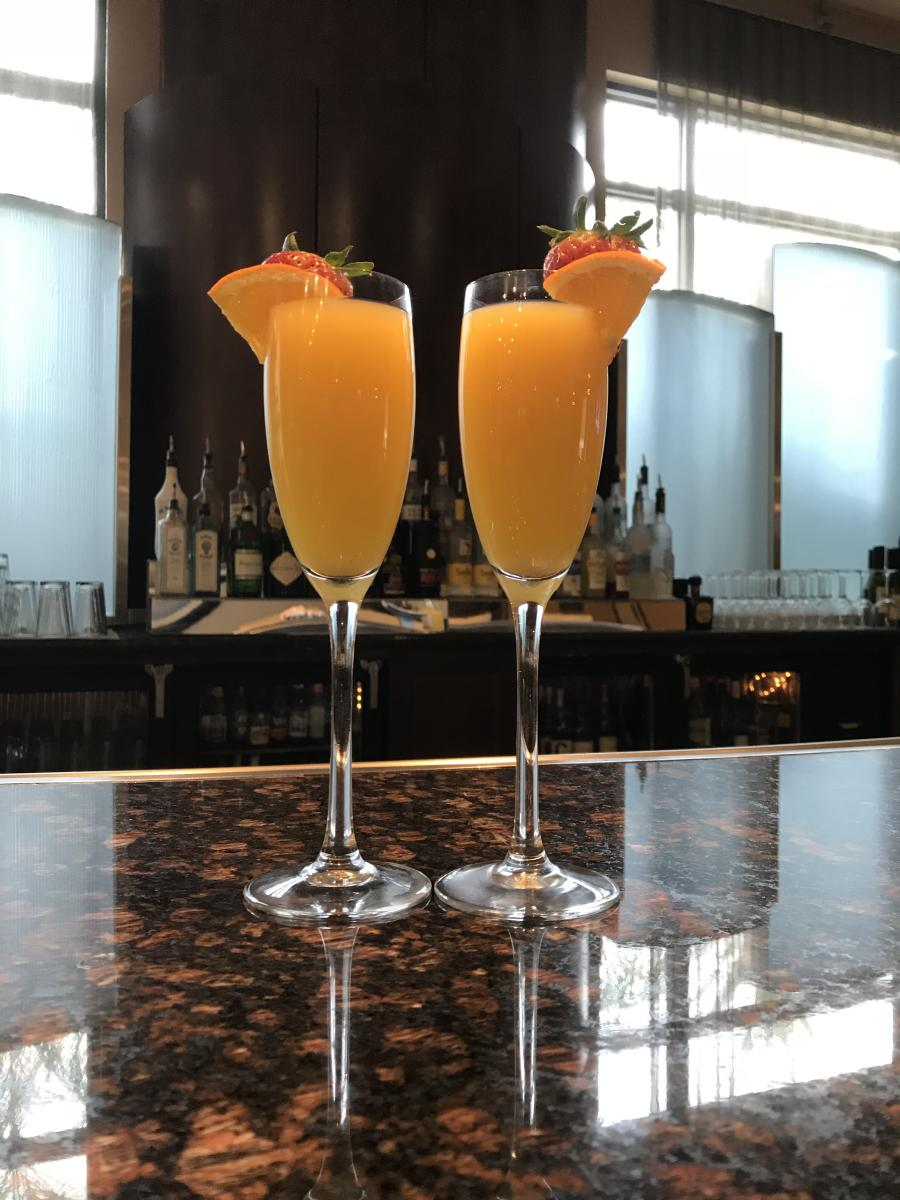 Mimosas for Easter Brunch at Hilton Phoenix Chandler