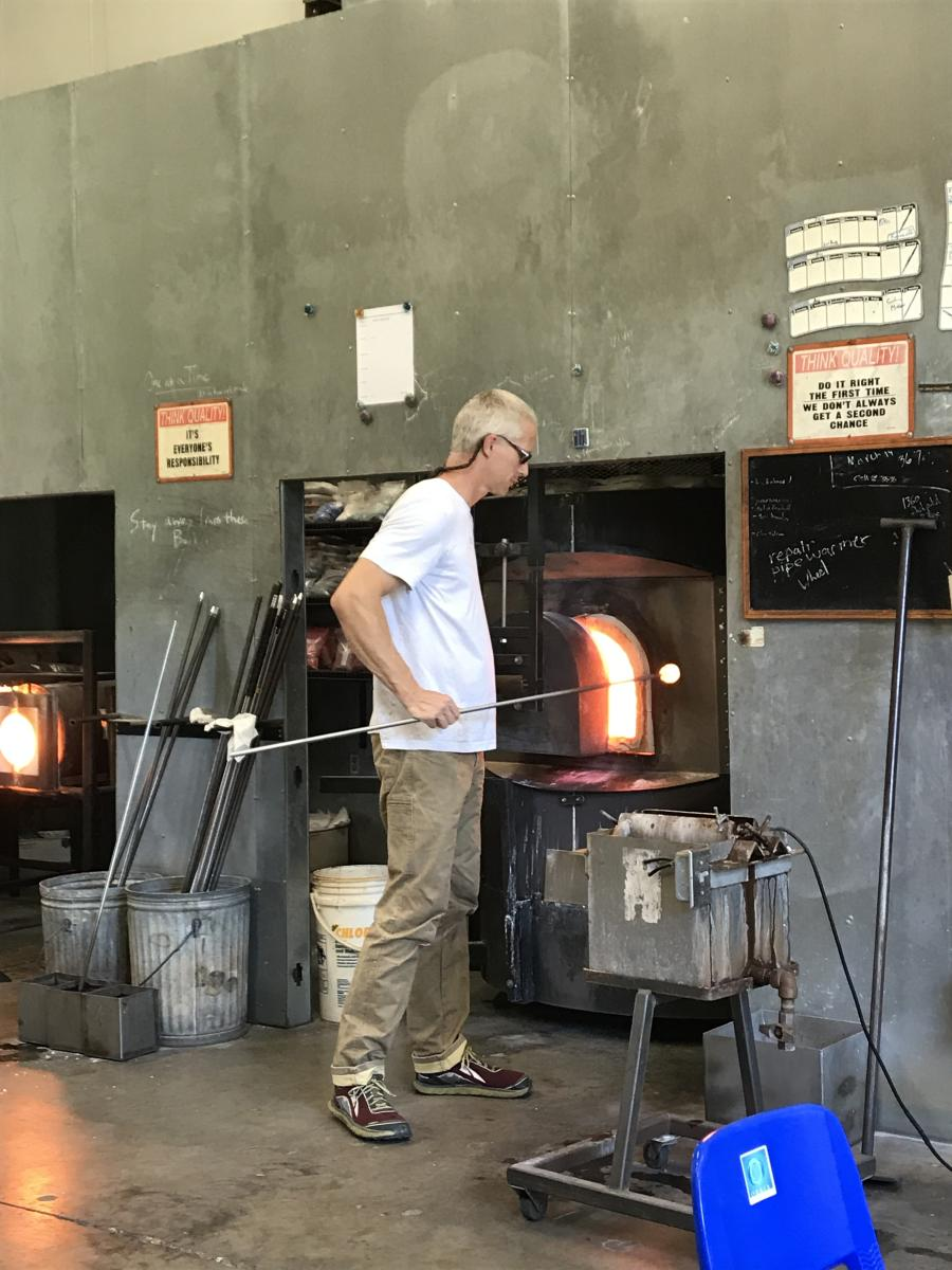 Carley's Adventures: Orbix Hot Glass
