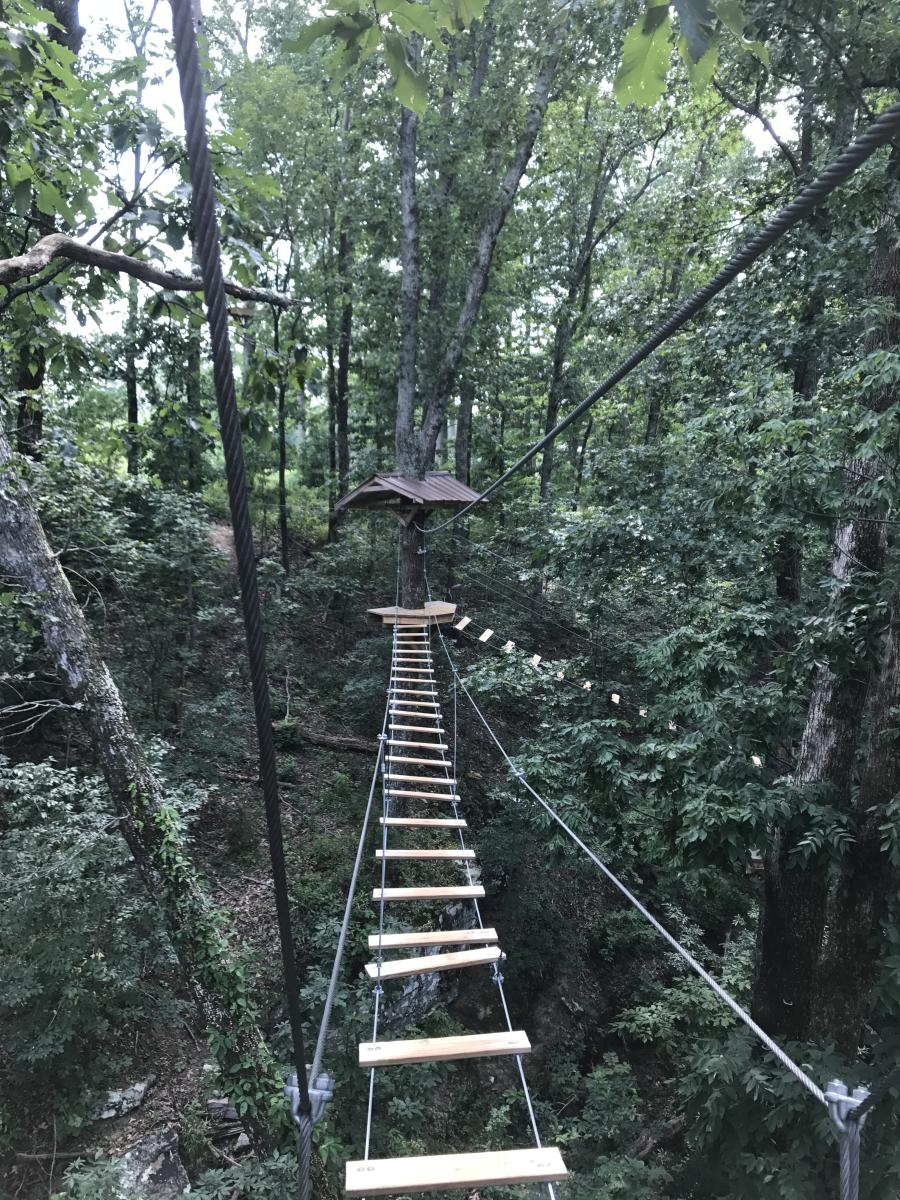 Carley's Adventures: Screaming Eagle Zip Lines
