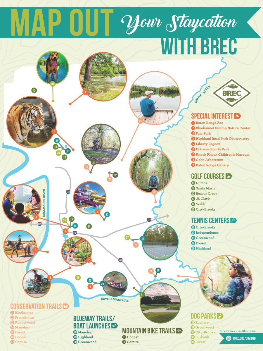 BREC Outdoor Staycation