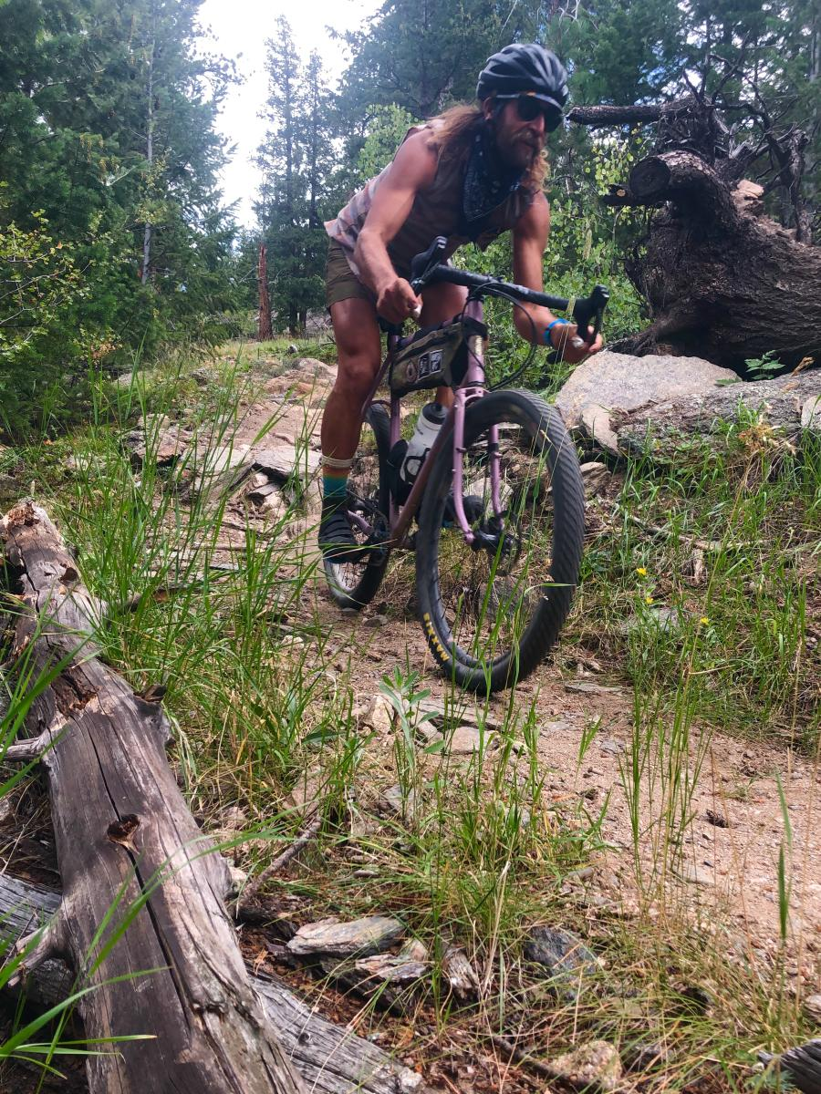 Anton Krupicka, Athlete in Residence, Mountain Bike