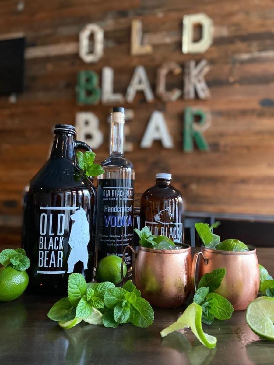 Cocktails to go at Old Black Bear in Huntsville