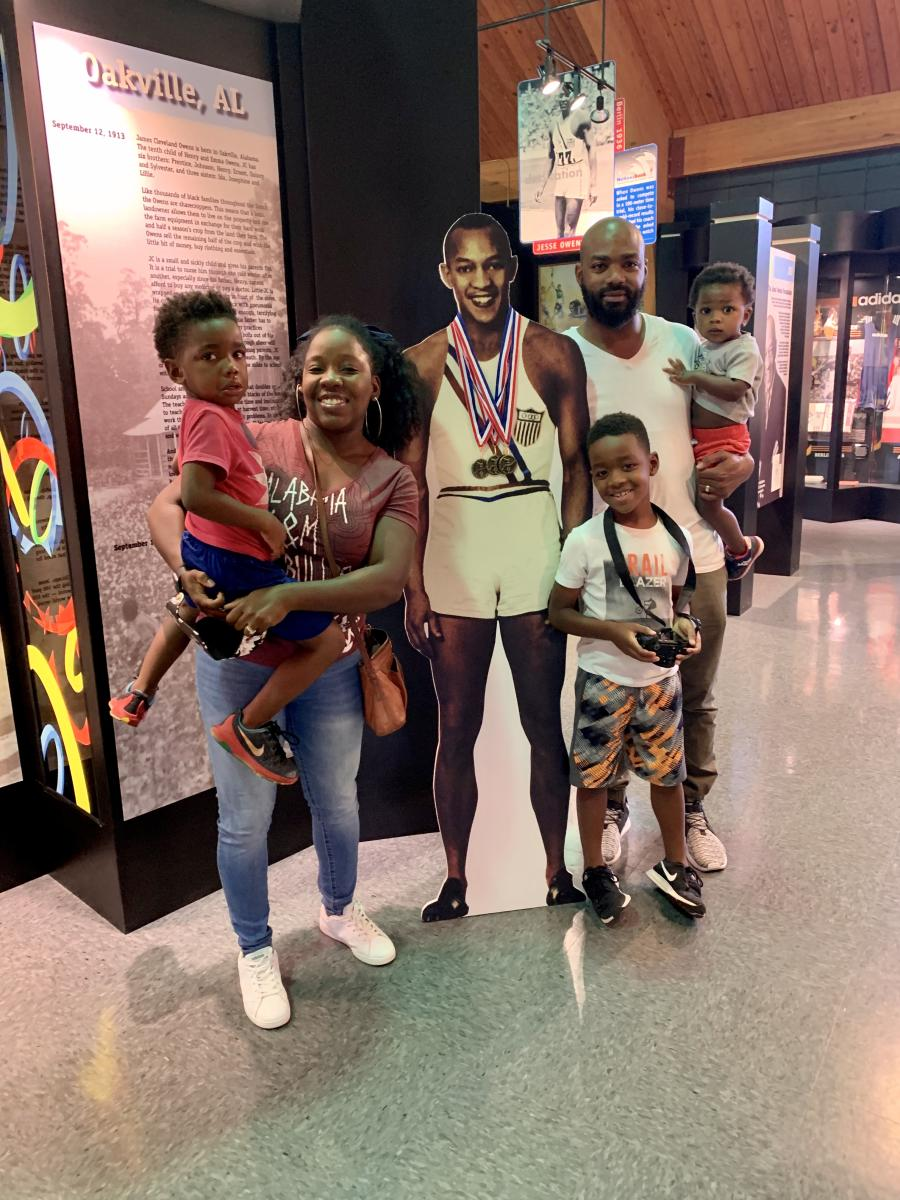 Zenovia Family Jesse Owens