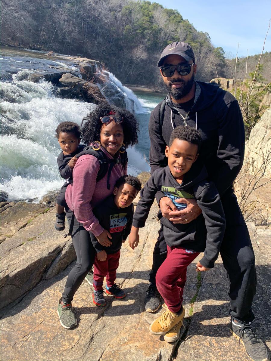 Zenovia Family Waterfall