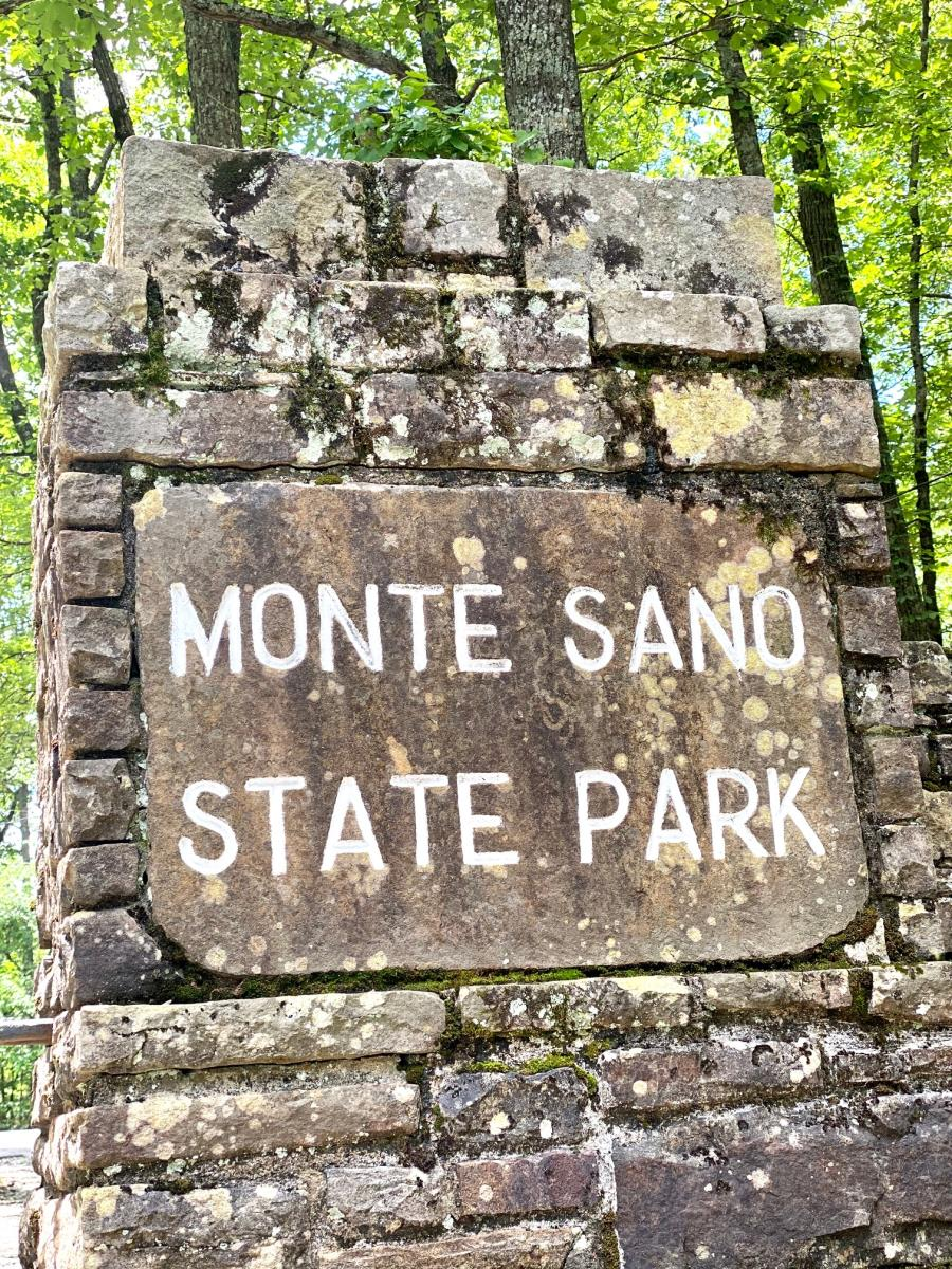 Monte Sano State Park Signage