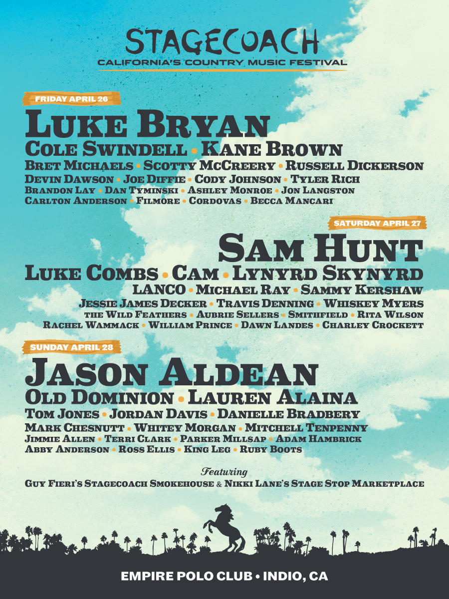 Stagecoach Lineup 2019
