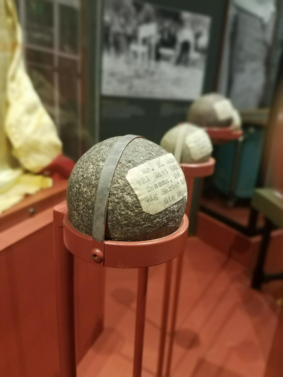 Roundest Rocks at Gig Harbor's Harbor History Museum