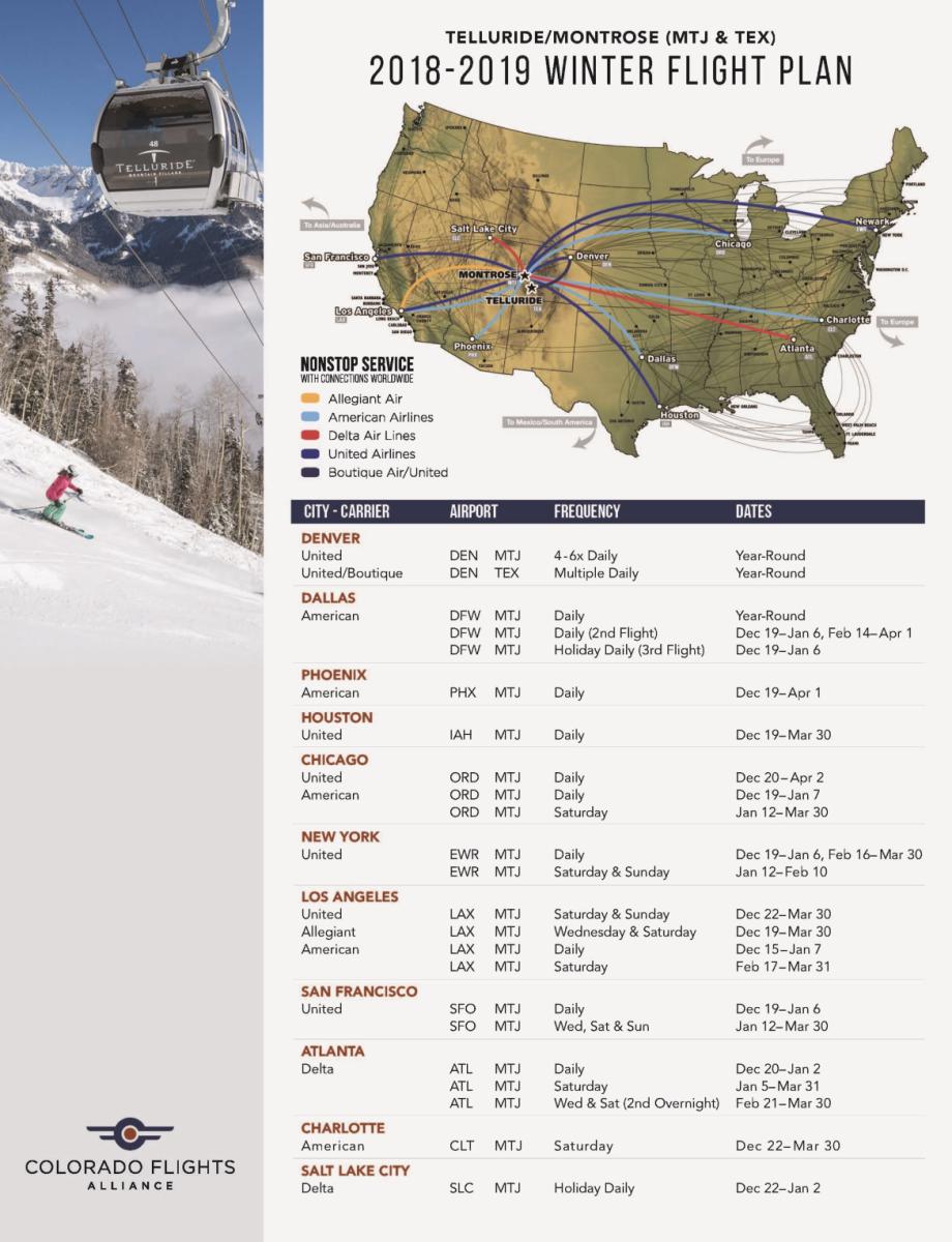 2018-2019 MTJ Flights