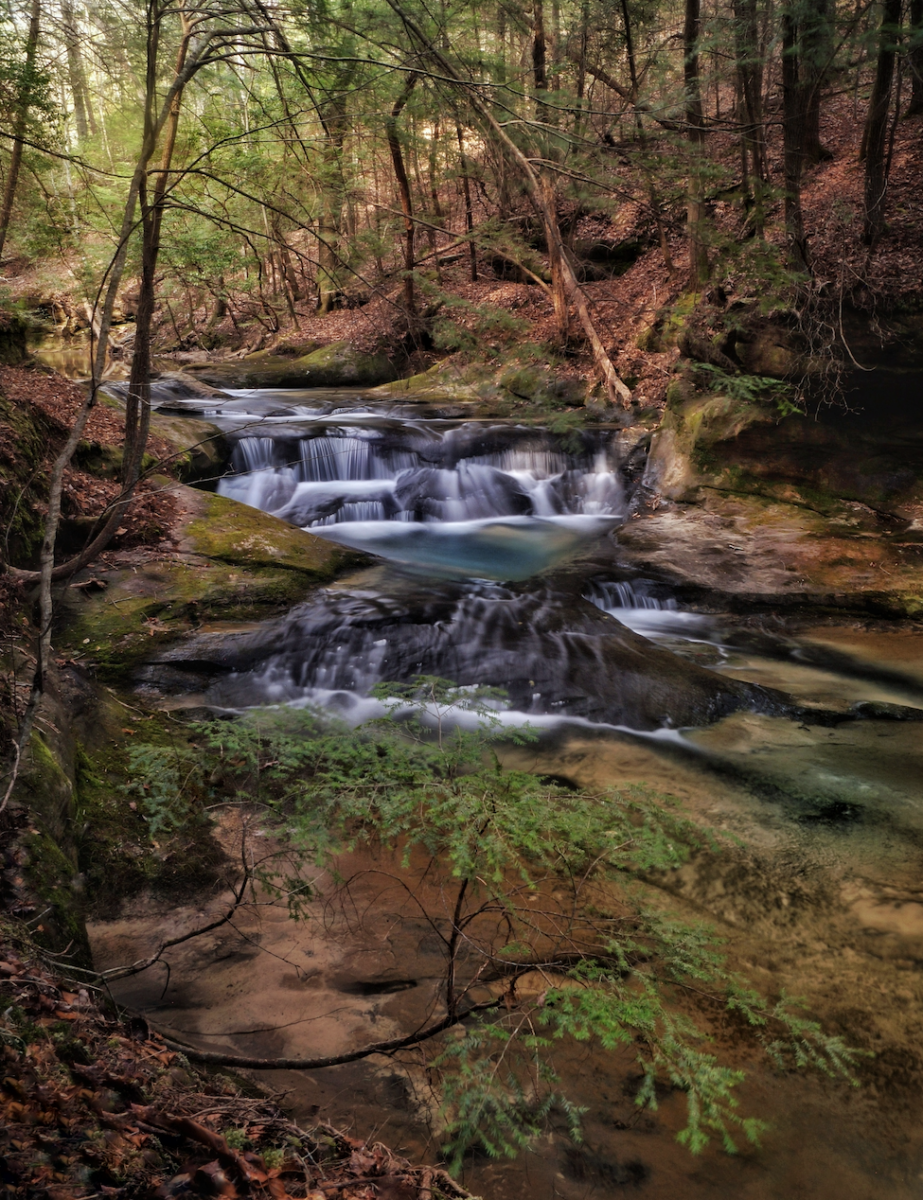 Bankhead waterfall by Lane Leopard