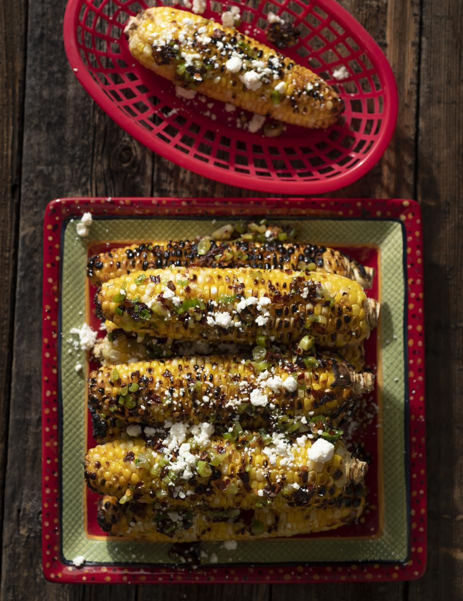 Tasting: Grilled Corn with Scallion Oil, New Mexico Magazine