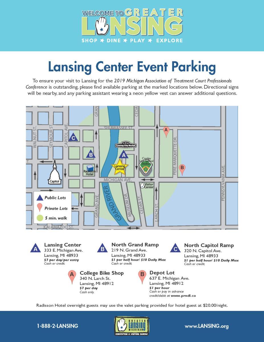 MATCP Parking Map