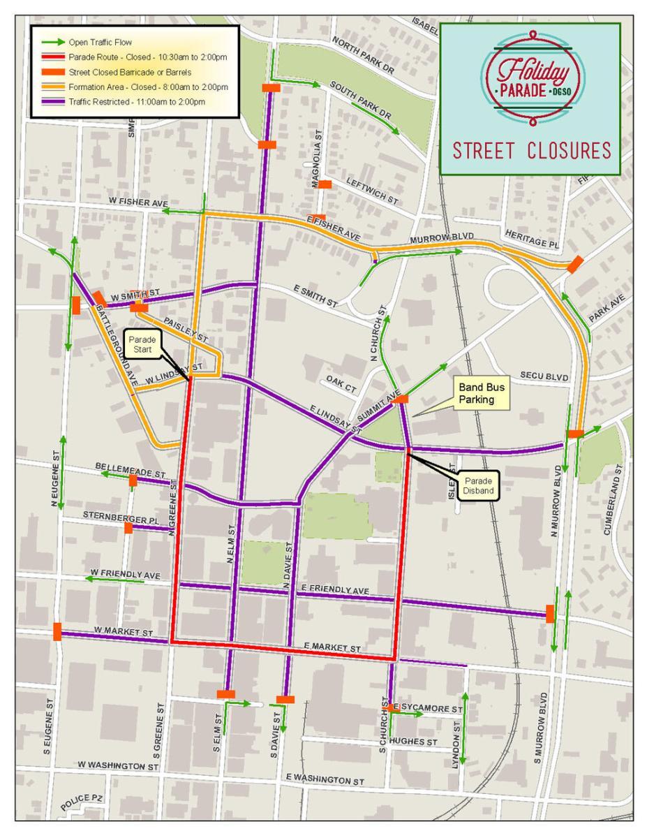 Holiday+Parade+Street+Closures