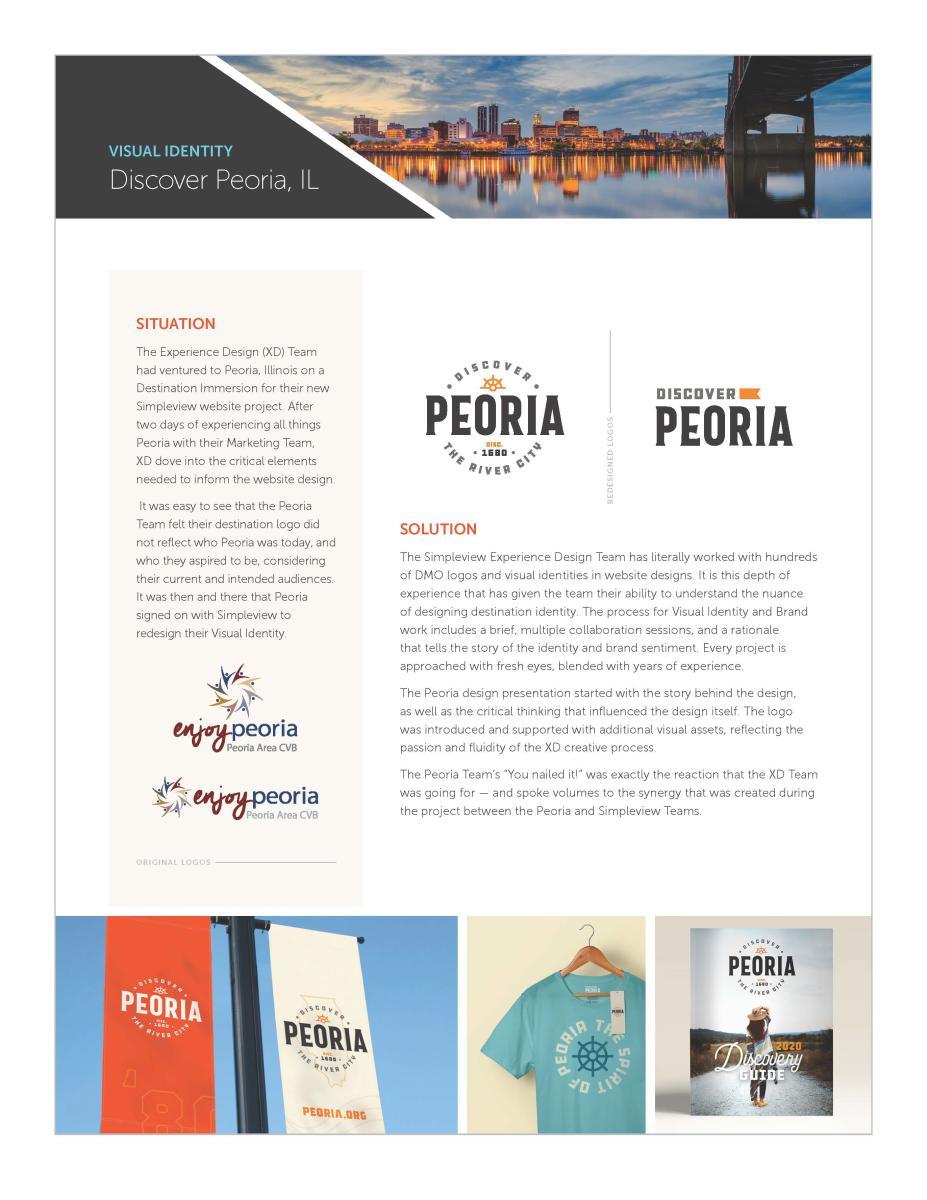 Peoria Visual Identity Page 1