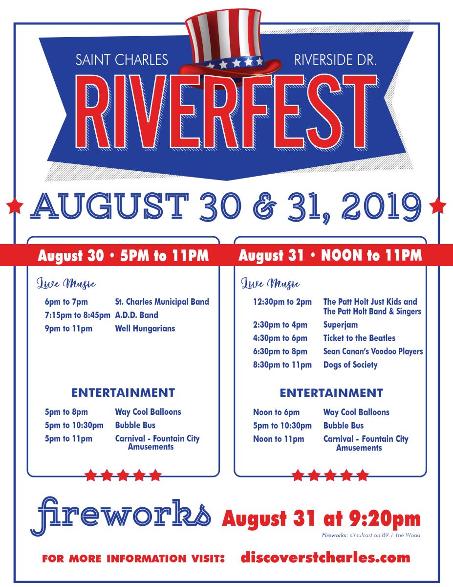 Revised Riverfest Flyer 08/07/19
