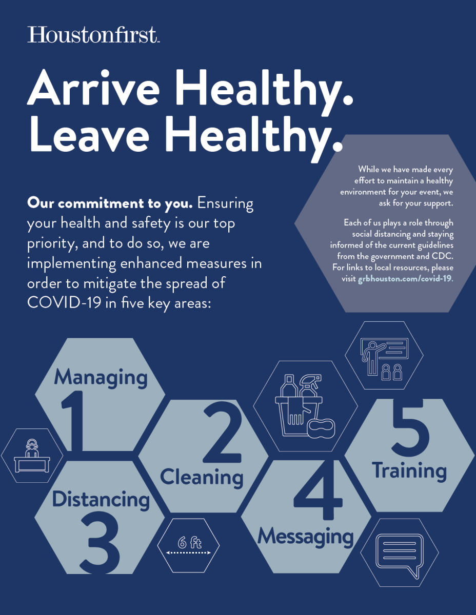 Houston First Health and Safety Plan for COVID-19