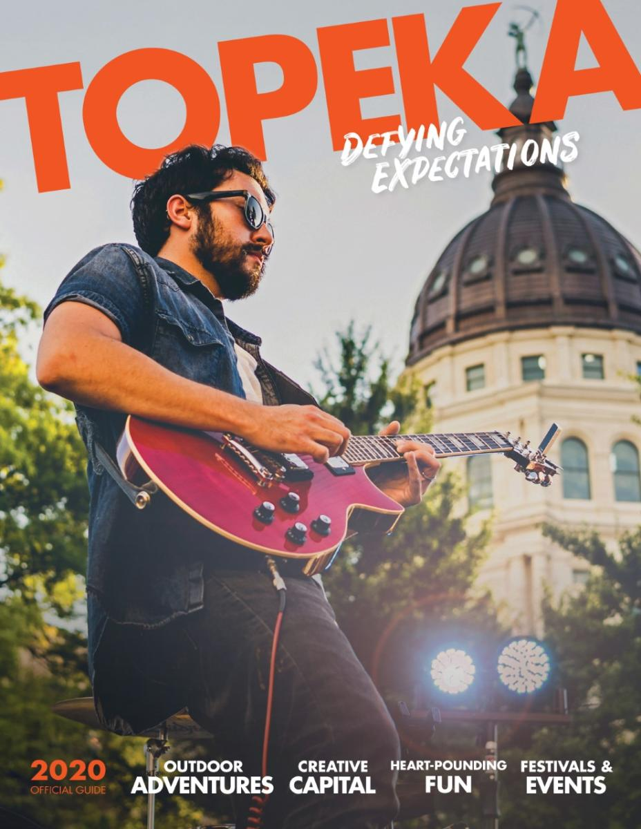 Topeka Visitors Guide 2020 Cover